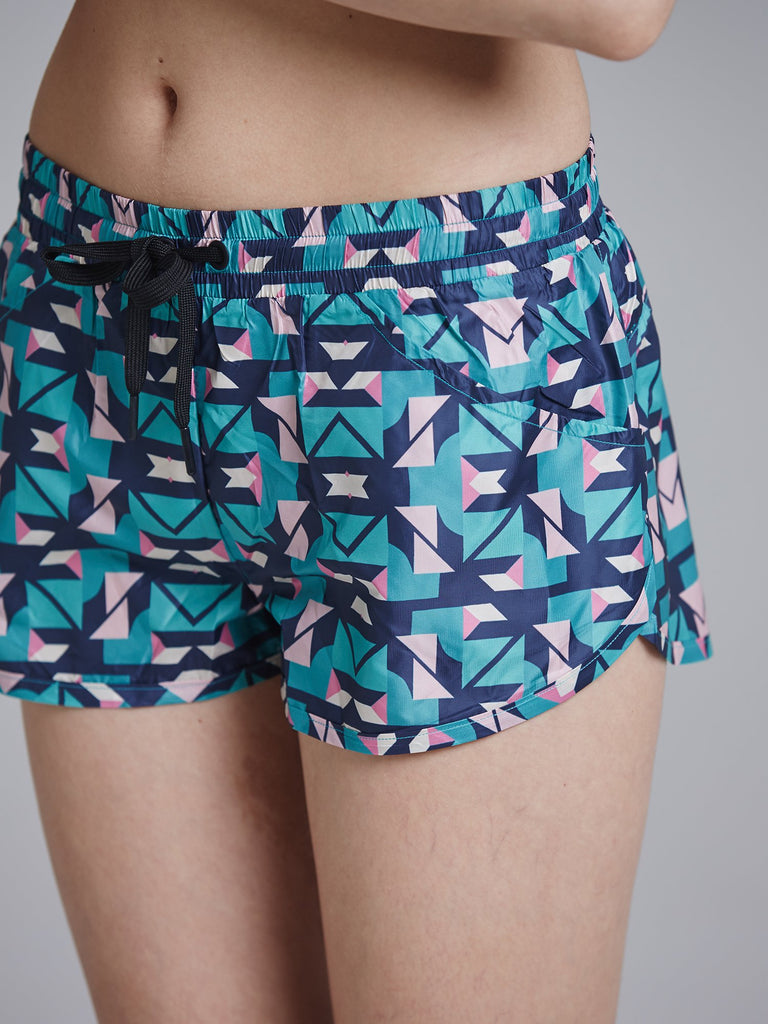 RELAY RUNNING SHORTS, ORIGAMI