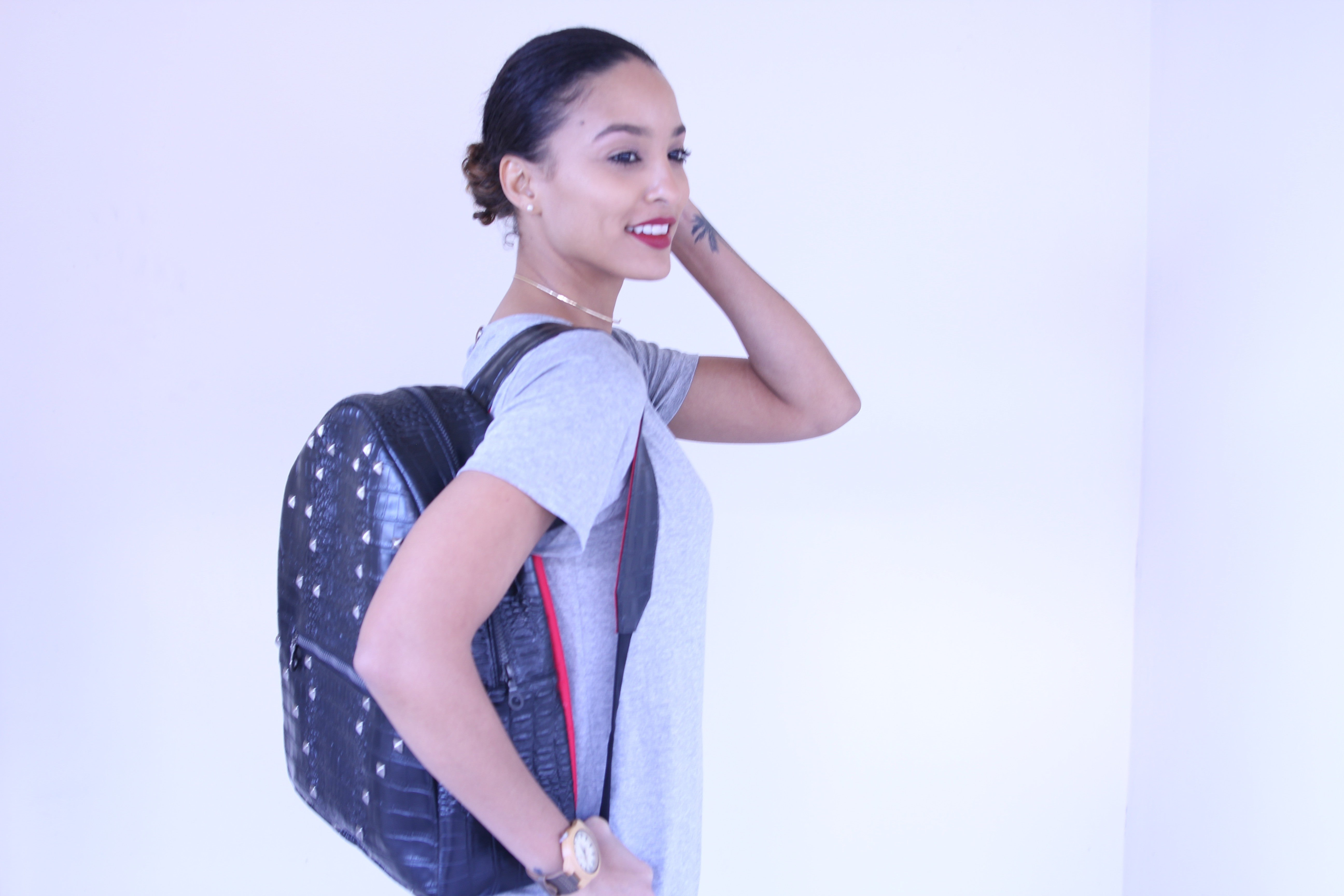 VINTAGE STYLE BACKPACK (NO OMOS; LARGE)