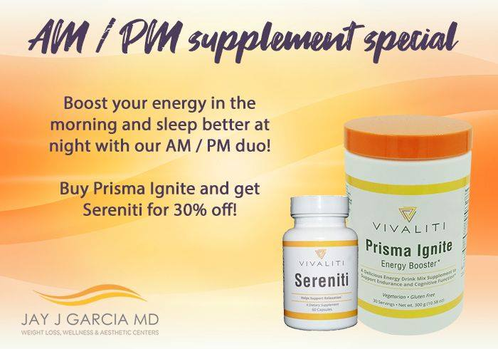 AM/PM Supplement Specials