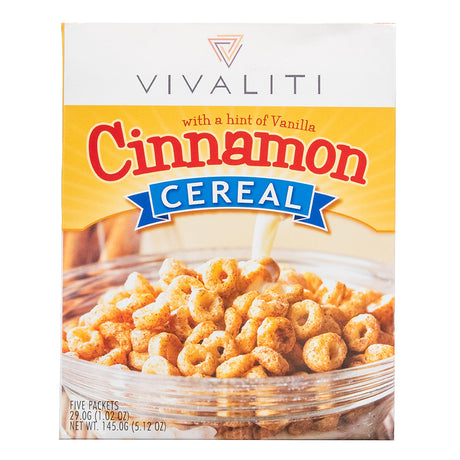 Hunger Control Cereal - Cinnamon - GarciaWeightLoss
