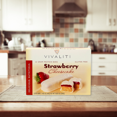 On-the-Go Bar-Strawberry Cheesecake