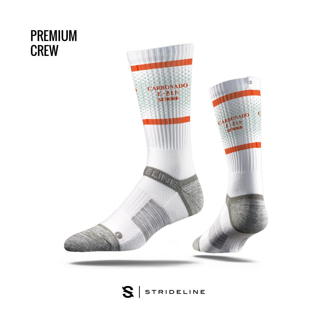 Carbonado K-8th School Apparel | Socks | Premium