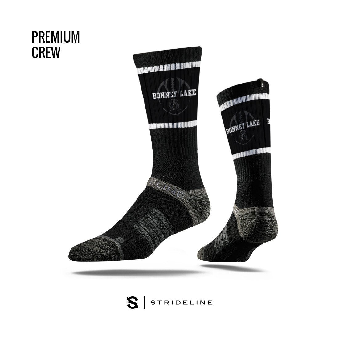 Bonney Lake High School Apparel | Socks | Premium