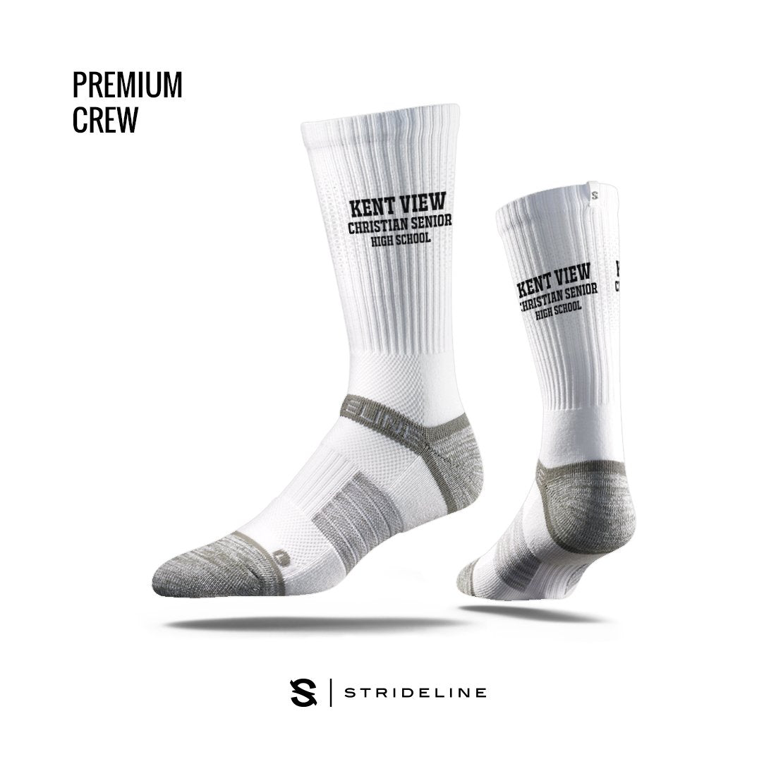Kent View Christian Senior High School Apparel | Socks | Premium