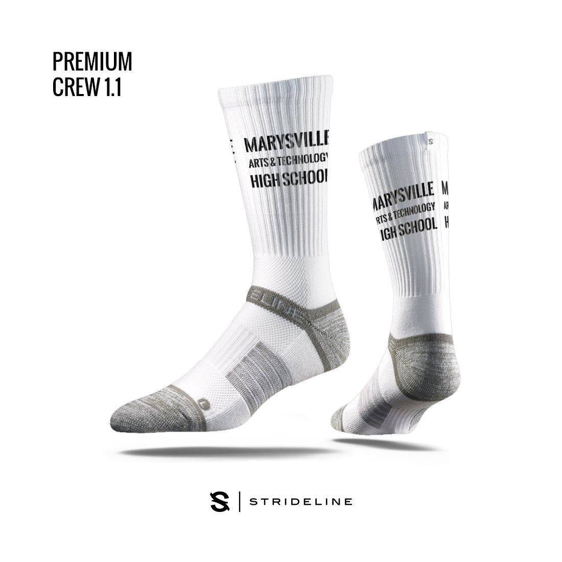 Marysville Arts & Technology High School Apparel | Socks | Premium