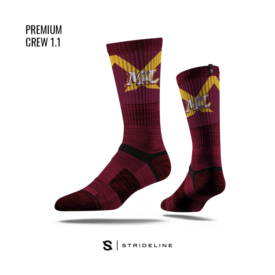 Moses Lake High School Apparel | Socks | Premium