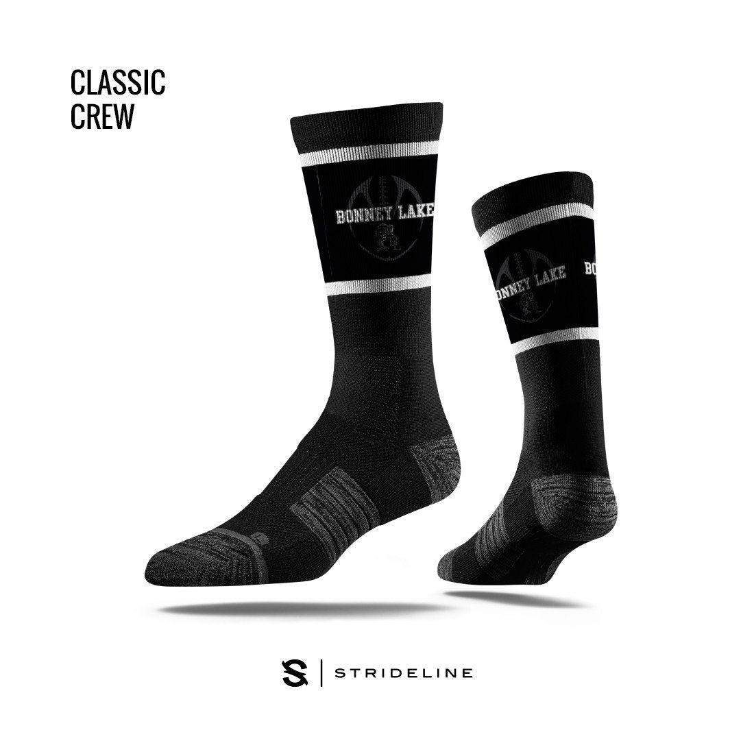 Bonney Lake High School Apparel | Socks | Classic