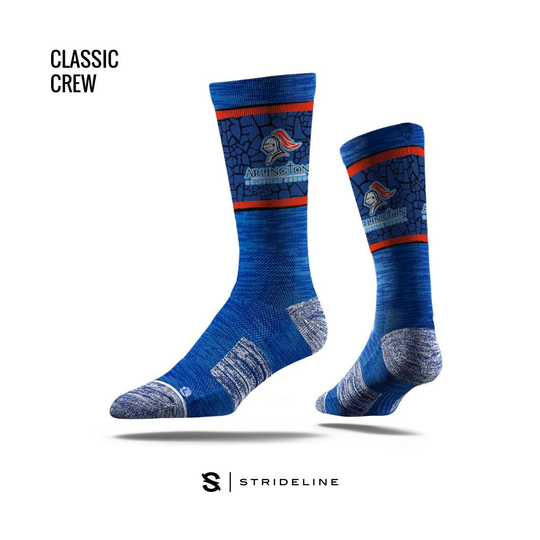Arlington Christian School Apparel | Socks | Classic