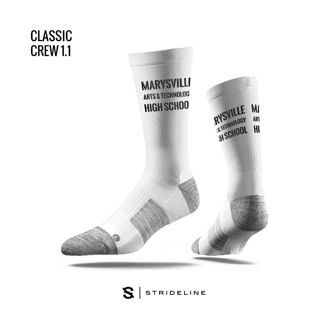 Marysville Arts & Technology High School Apparel | Socks | Classic