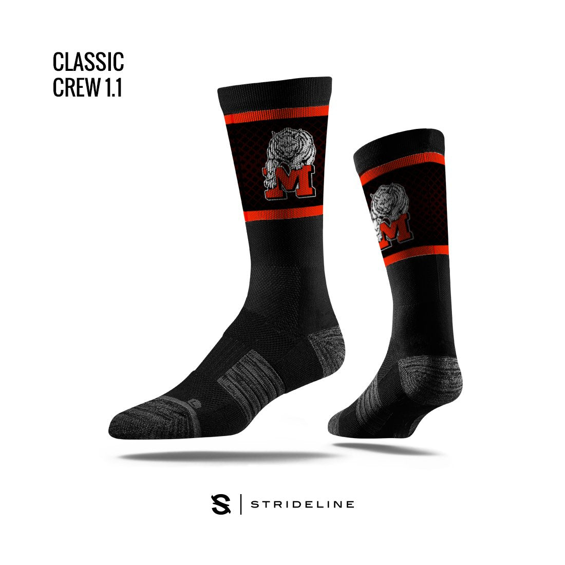 Monroe High School Apparel | Socks | Classic