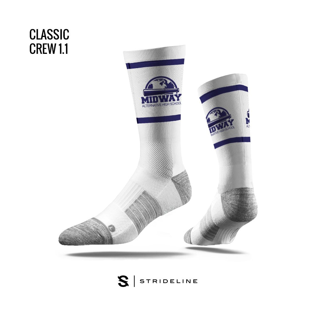 Midway Alternative School Apparel | Socks | Classic