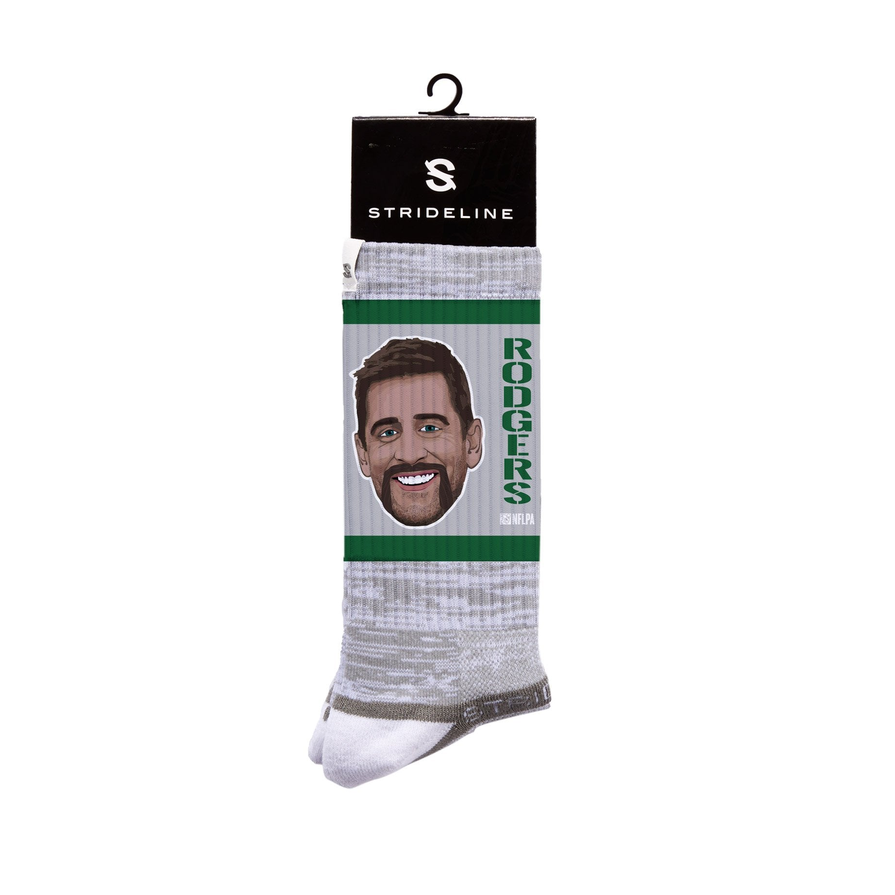 Aaron Rodgers Face Grey