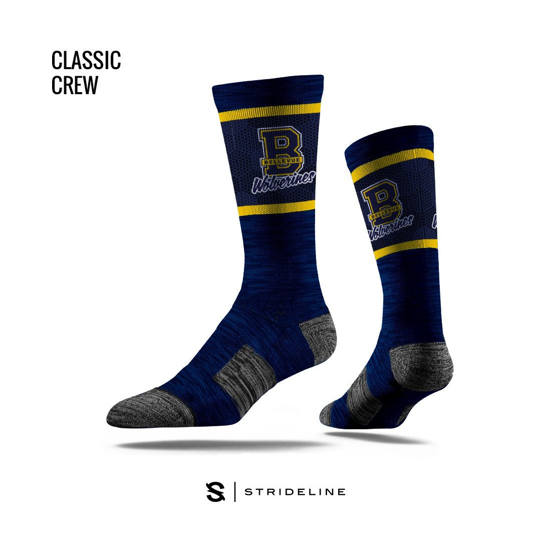 Bellevue High School Apparel | Socks | Classic