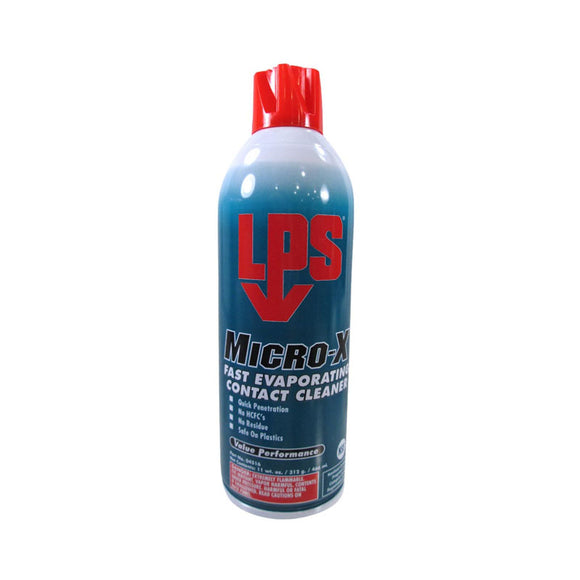 LPS Micro-X Electro Contact Cleaner 11oz