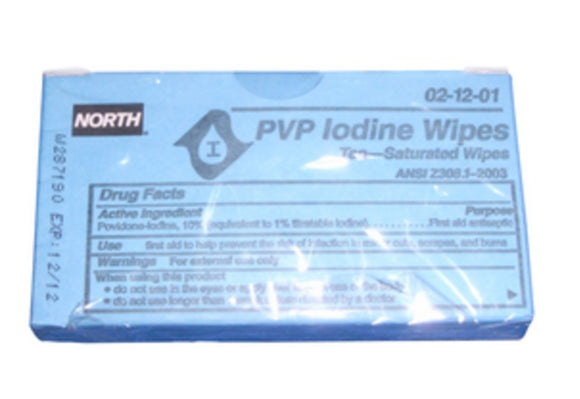 Antiseptic Iodine Swabs - 10-Pack - Pilot Resources & More