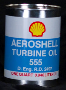 Aeroshell Oil - Turbine Engine,Qt,Aeroshell 555 - Pilot Resources & More