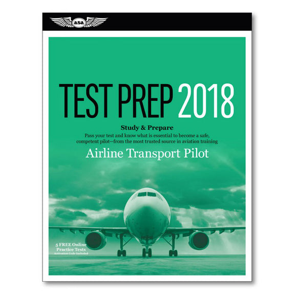 ASA - Test Prep - Airline Transport Pilot - Pilot Resources & More