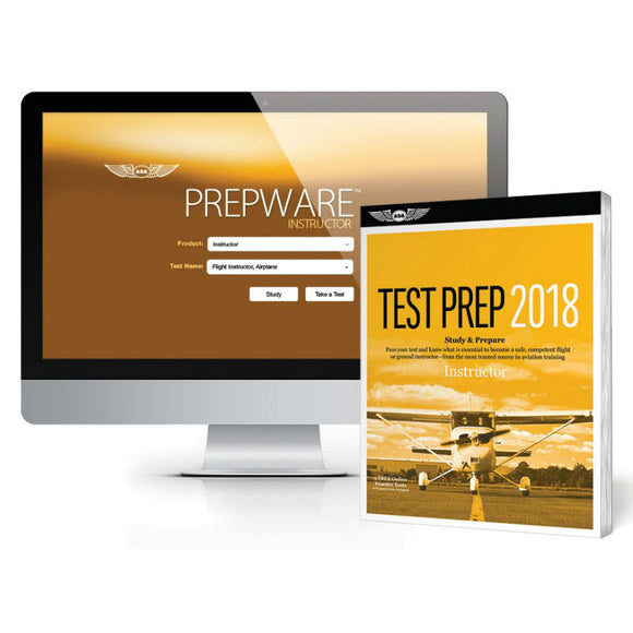 ASA - Test Prep 2018 Series - Certified Flight Ins Bdl - Pilot Resources & More