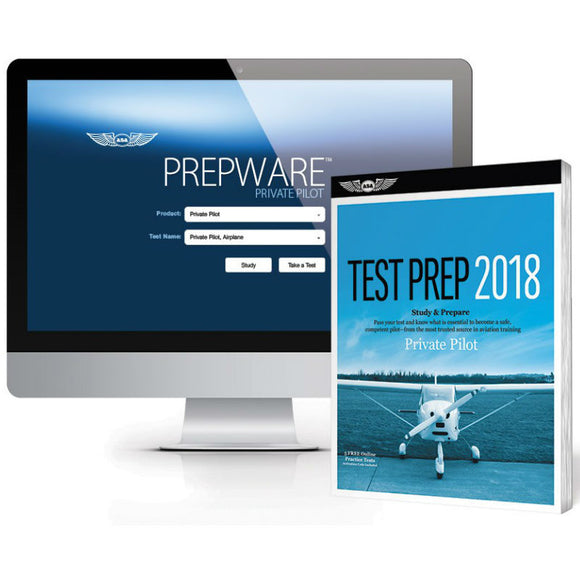 ASA - Test Prep 2018 Series - Private Pilot Bundle - Pilot Resources & More