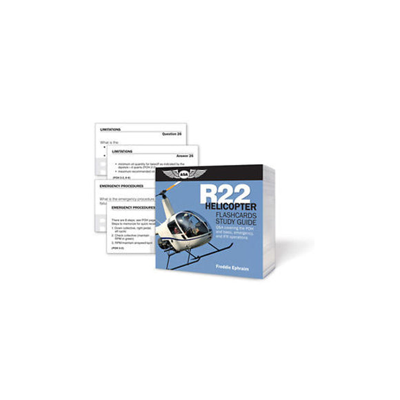 ASA - Flashcards Helicopter, R22, Robinson - Pilot Resources & More