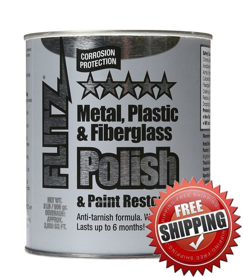 Flitz Metal Polish 2lb Can