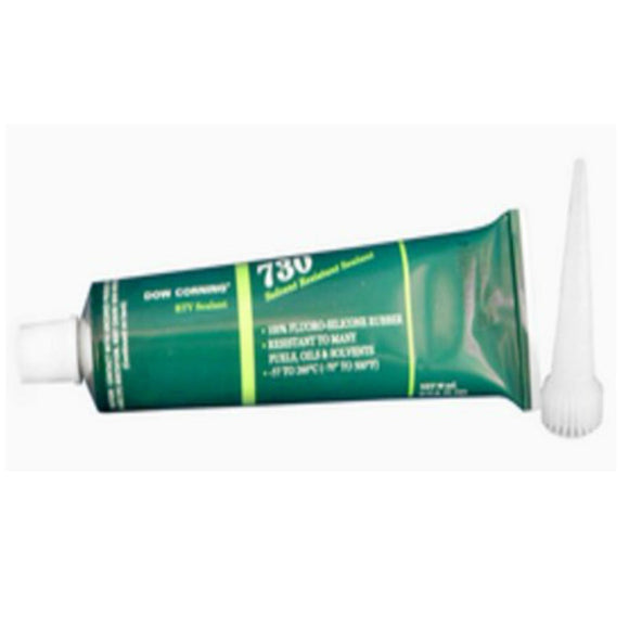 Dow Corning 730 Solvent Resistant Sealant - 3 oz - Pilot Resources & More