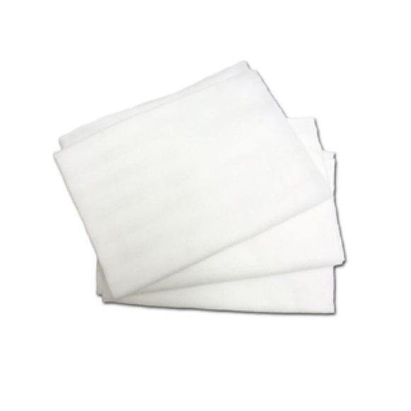 Celeste - White Microfiber Cloth Towel - 13.5'' x 21''