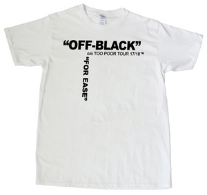 OFF BLACK WHITE TEE