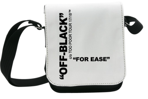 OFF-BLACK SHOULDER BAG