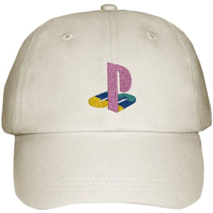 EMBROIDERED SIX PANEL CAP PLAYSTATION
