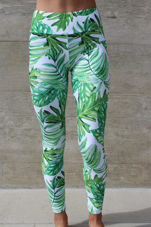 Tropic High Waisted Legging