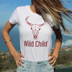 Wild Child Women's Short Sleeve