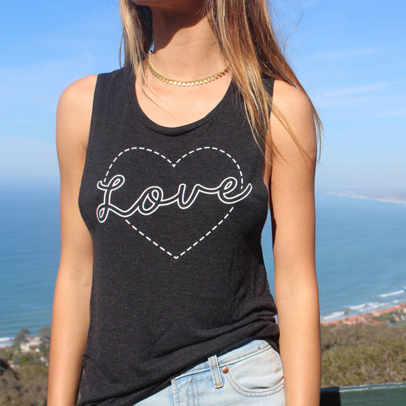 Love Ladies' Muscle Tank