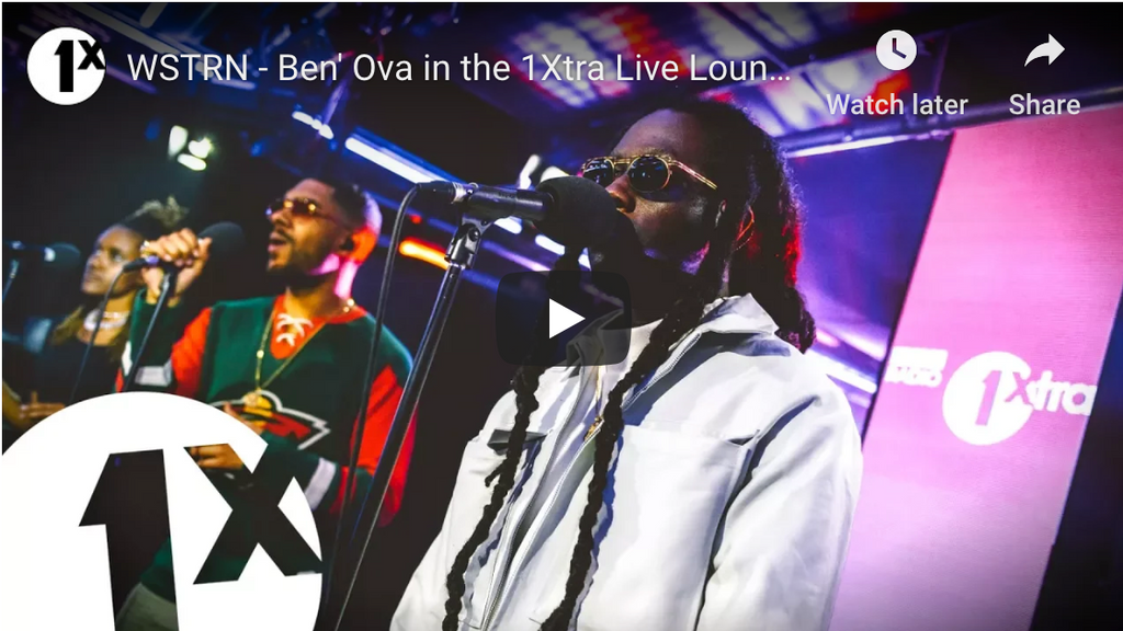 WSTRN - Ben' Ova in the 1Xtra Live Lounge