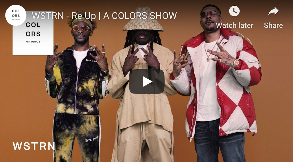 WSTRN - Re Up | A COLOURS SHOW