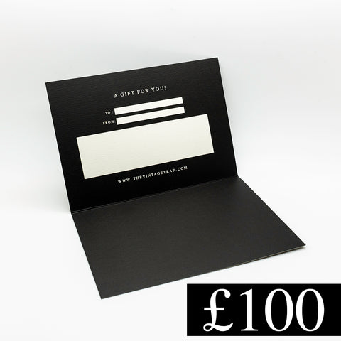 £100 Gift Card - THE VINTAGE TRAP