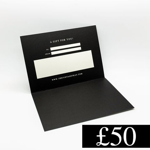 £50 Gift Card - THE VINTAGE TRAP