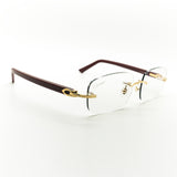 Cartier Burgundy Vintage Sunglasses - THE VINTAGE TRAP