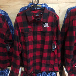 Flannel Shirt-Red and Black Buffalo Plaid
