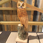 Wooden carvings by Don Greene