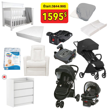 Graco and Silver Cross Starter Kit 12 Piece Set