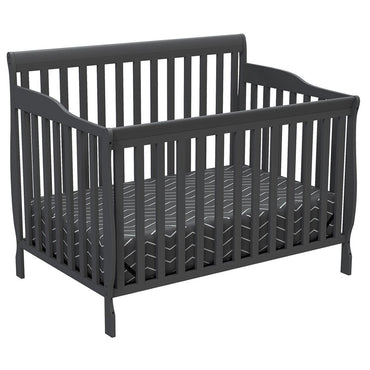 4 in 1 Convertible Crib - Angelo - Dark Gray