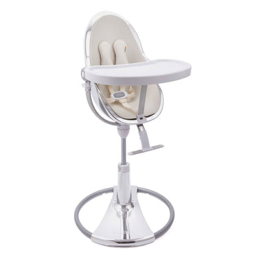 Bloom high chair - Fresco Silver - Coconut White