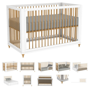 bebelelo 5 in 1 convertible crib
