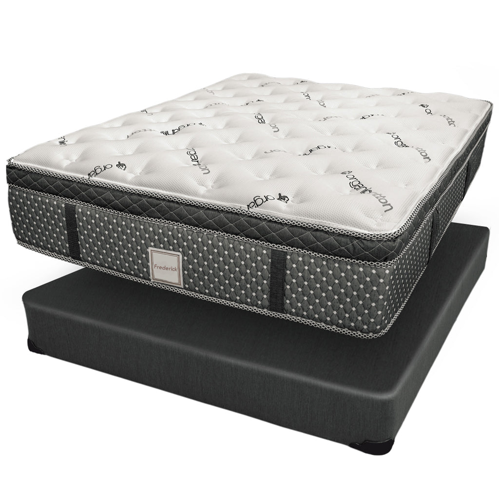 22 Inch Queen Mattress Mattress Set - Frederick Collection
