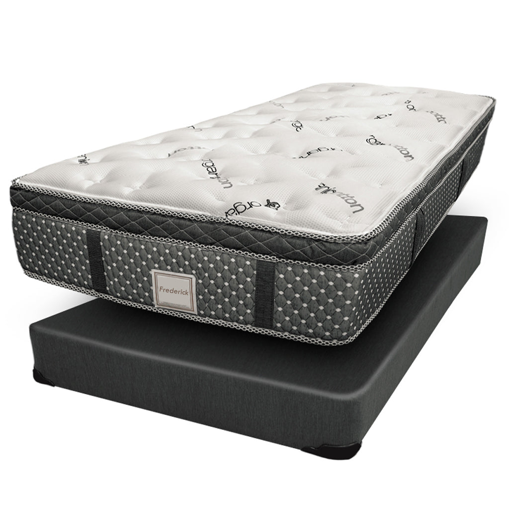 Ensemble Matelas Sommier simple 22 Pouces - Collection Frederick