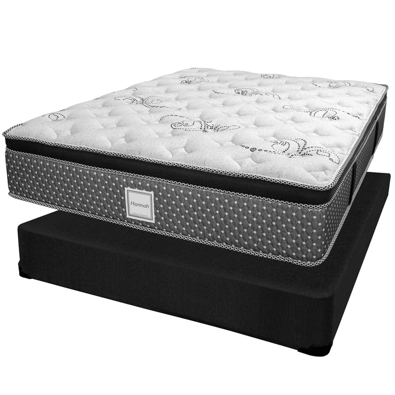 Ensemble Matelas Sommier - Collection Hannah - Queen