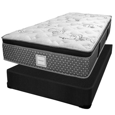 Ensemble Matelas Sommier - Collection Hannah - Simple