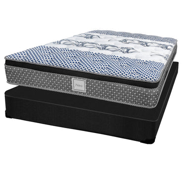 Ensemble Matelas Sommier - Collection Neo - Queen