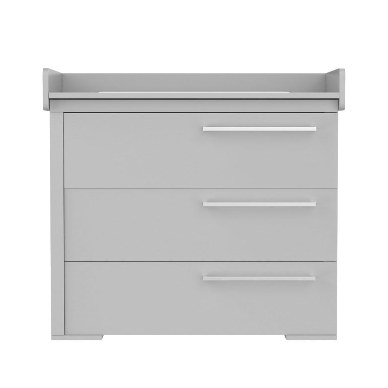 light gray changing table